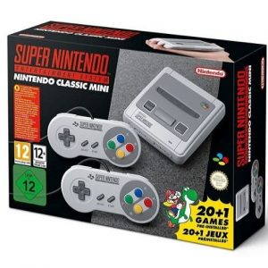 Mini consola Super Nintendo