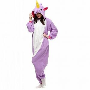 Pijama unicornio de color morado